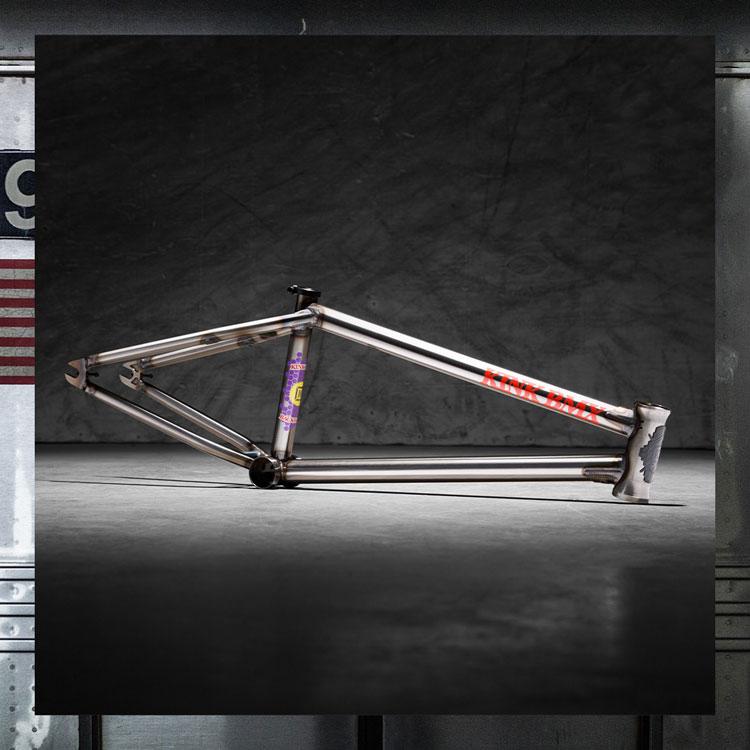 Kink BMX Backwoods Frame