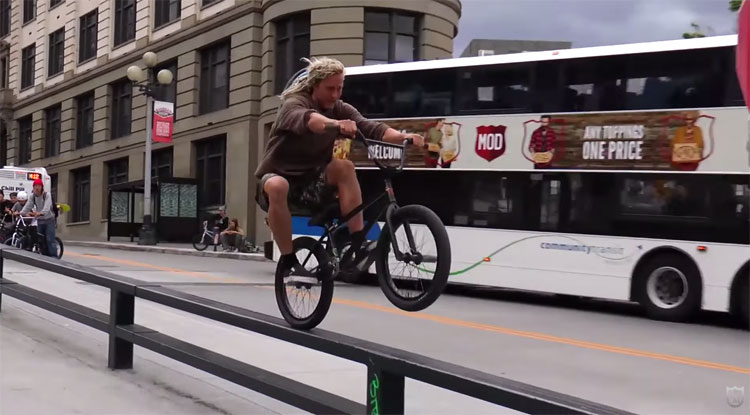 S&M Bikes In Seattle BMX video