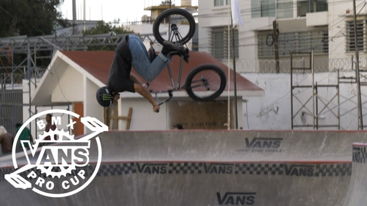 Vans BMX Pro Cup 2019 Mexico Kevin Peraza Course Preview