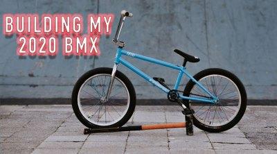 Mark Webb Total BMX 2020 Bike Build