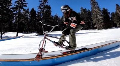 Drifter Snow Bikes All Work No Play Tour BMX video