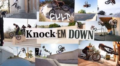 Cult BMX Knock 'Em Down 28 Days in Arizona BMX video
