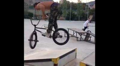 Fernando Laczko Instagram Compilation BMX video