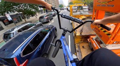 Billy Perry GoPro BMX Bike Riding In NYC 11