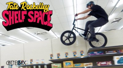 GT BMX Tate Roskelley BMX In A Grocery Store
