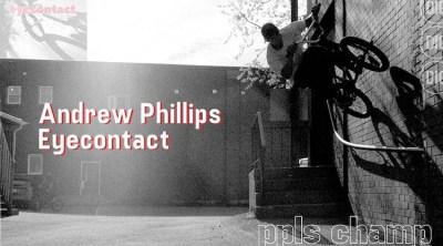 Andrew Phillips BMX video