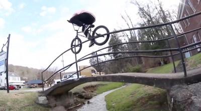 The Daily Grind Chase Bucci Welcome BMX video