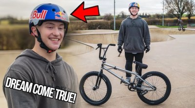 Keiran Reilly On Red Bull BMX UK