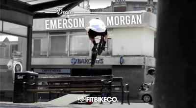 Fit Bike Co Emerson Morgan Drains BMX video