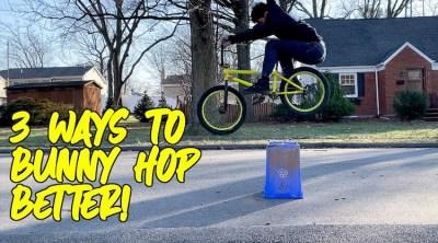 How To Improve BMX bunnyhop