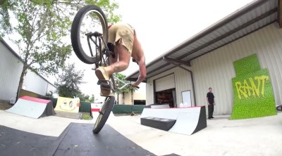 Trey Jones The Lot BMX video