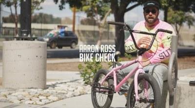Sunday Bikes Aaron Ross Video Bike Check BMX