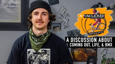 Unclicked Podcast - Corey Walsh Coming Out BMX