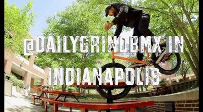 Daily Grind BMX Indianapolis BMX video