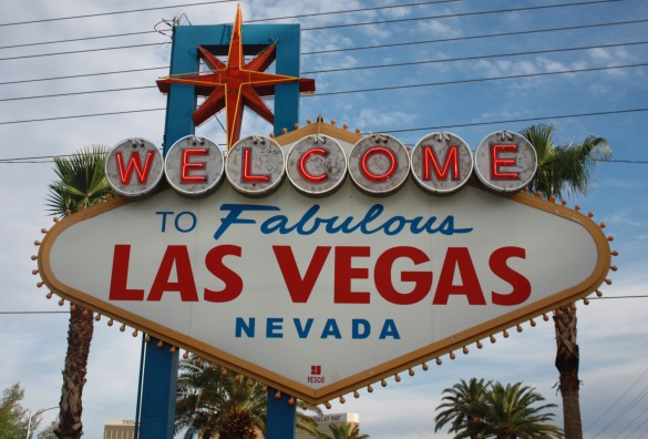 Visiting the famous Vegas welcome sign is a necessity.
