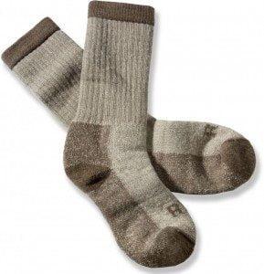 Шерстяные носки - лучший вариант для охоты