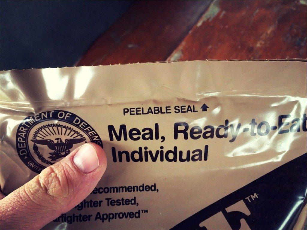 MRE - сухпаек американского солдата