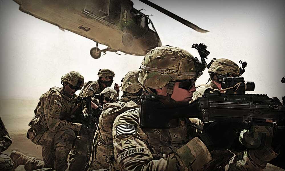 Армия США - распространение мирового влияния