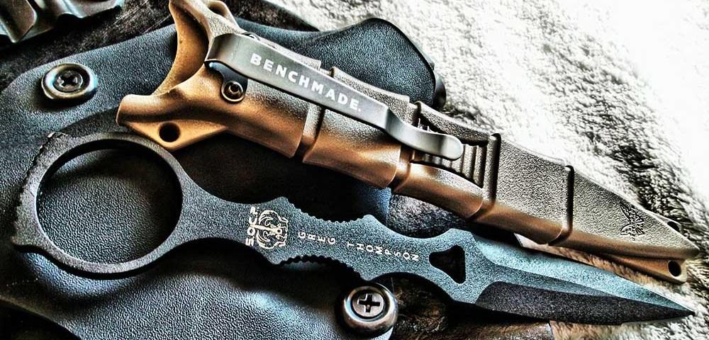 Benchmade SOCP Dagger - крутой нож для крутого спецназовца