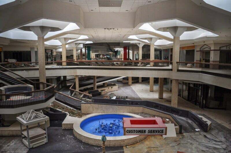 Рэндал Парк молл (Randall Park Mall) Северный Рэндал Огайо (3)