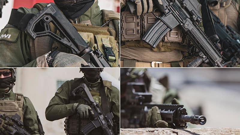 Израильская компания IWI представила новую штурмовую винтовку ARAD.