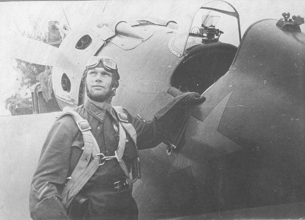 ПАК-1 на истребителе И-16, 1936г.