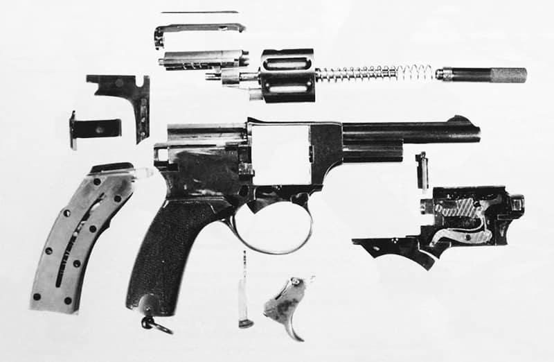 Landstad 1900: Автоматический револьвер Ландстада