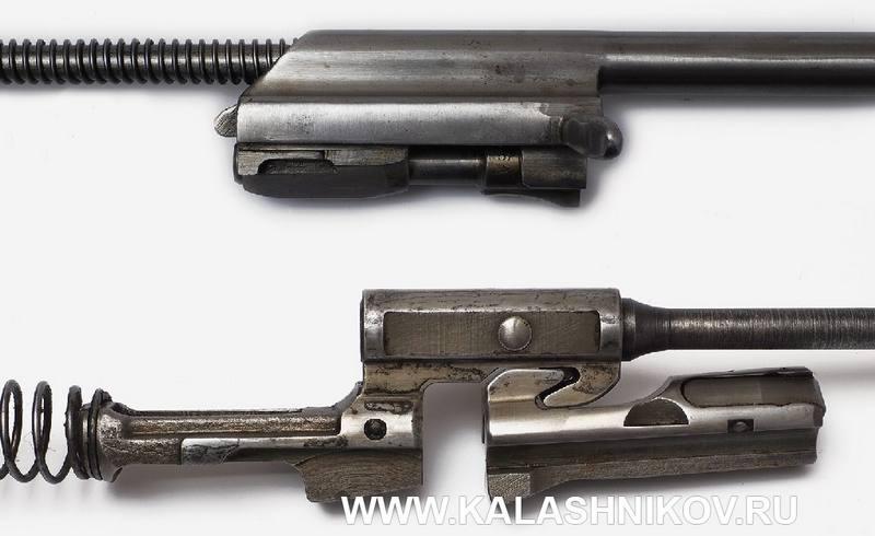 Сердце автоматического оружия — узел запирания. Думаю, такой снимок не будет лишним для понимания устройства АК и StG44.