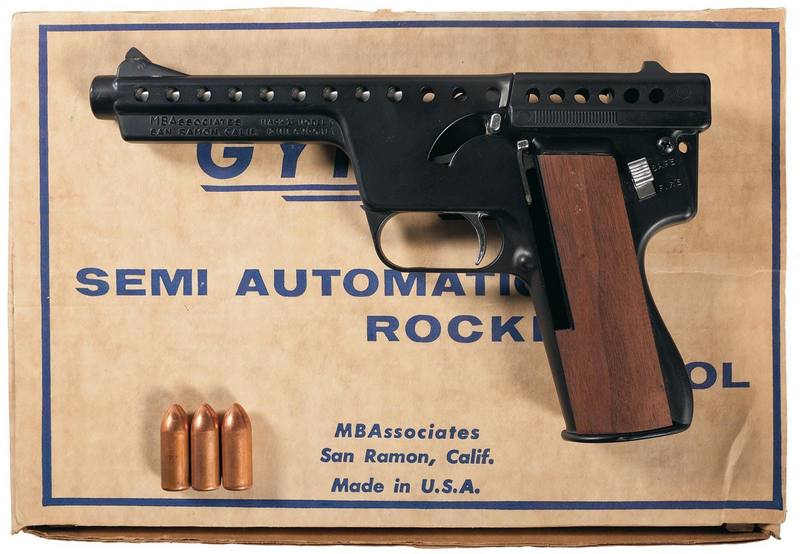 Американский пистолет MBA Gyrojet.