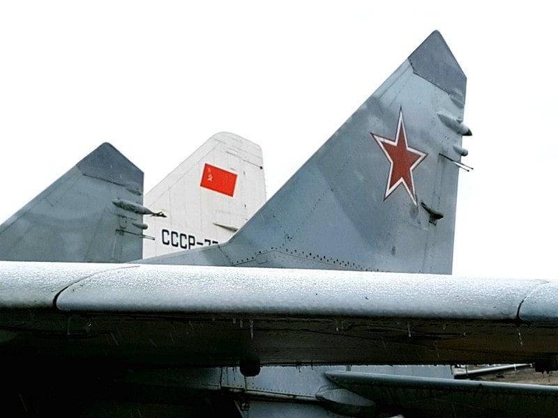 Центральный Музей ВВС в Монино. Самолеты и люди