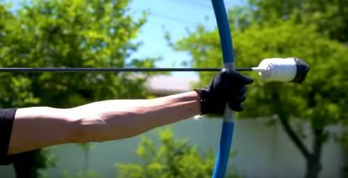 ПВХ-труба для изготовления лука и стрел