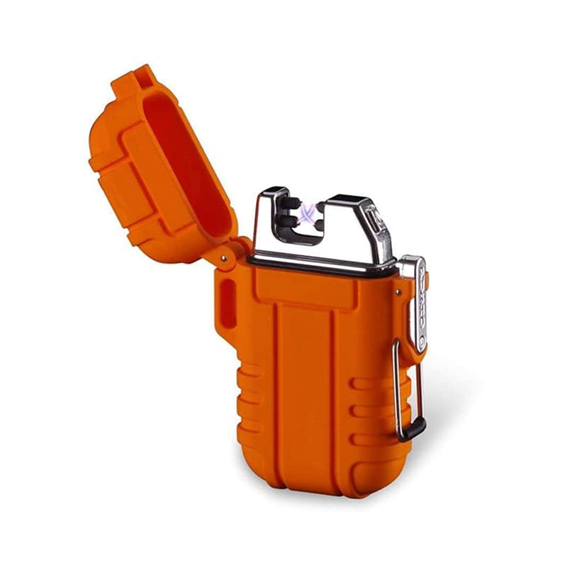 Зажигалка KOBWA Flameless Camping Dual Arc Lighter