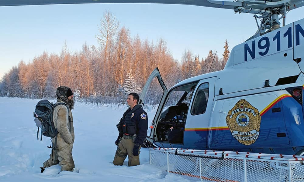 История выживания - Тайсон Стил, 22 дня в снегах Аляски