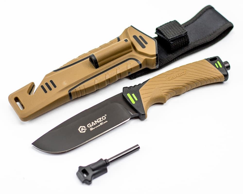 Нож для выживания Ganzo G8012: верный друг, надежный инструмент