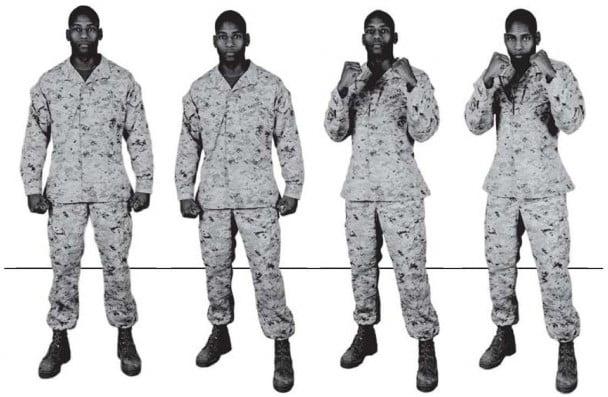 Рис. 2-2. Основная боевая стойка.