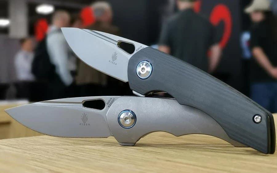 06 - Kizer Microlith - Складные ножи для EDC - дюжина наиболее лёгких моделей 2020