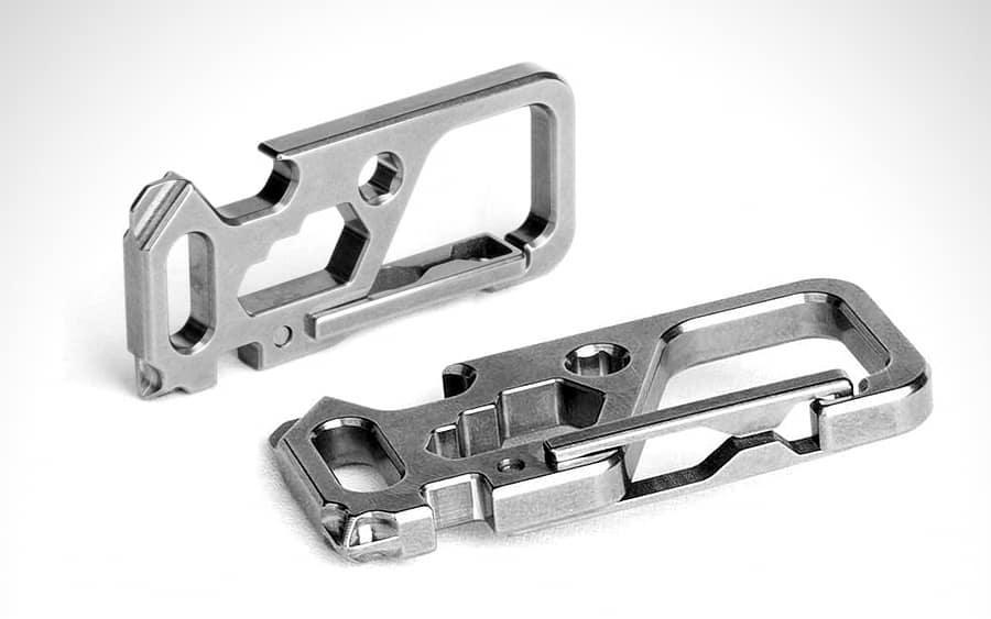 TISUR Titanium Carabiner Clip - Лучшие EDC открывашки 2020