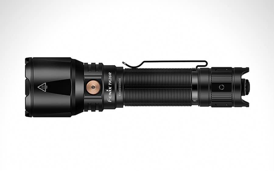 3 - Fenix TK26R Tactical Flashlight - Тактические фонари - лучшие модели за 2020-й год