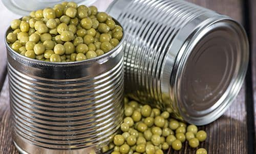 Зеленый горошек - Доступные и дешёвые источники белка для запасания на случай ЧС