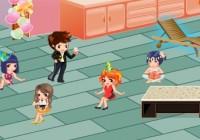 لعبة ديكور حفلات الاصدقاء العاب بنات كول