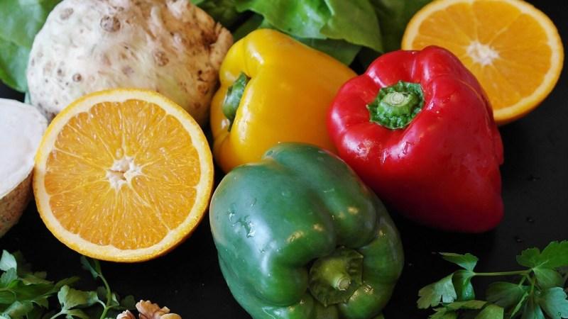 Groenten en fruit, openbare markt, Costa Blanca