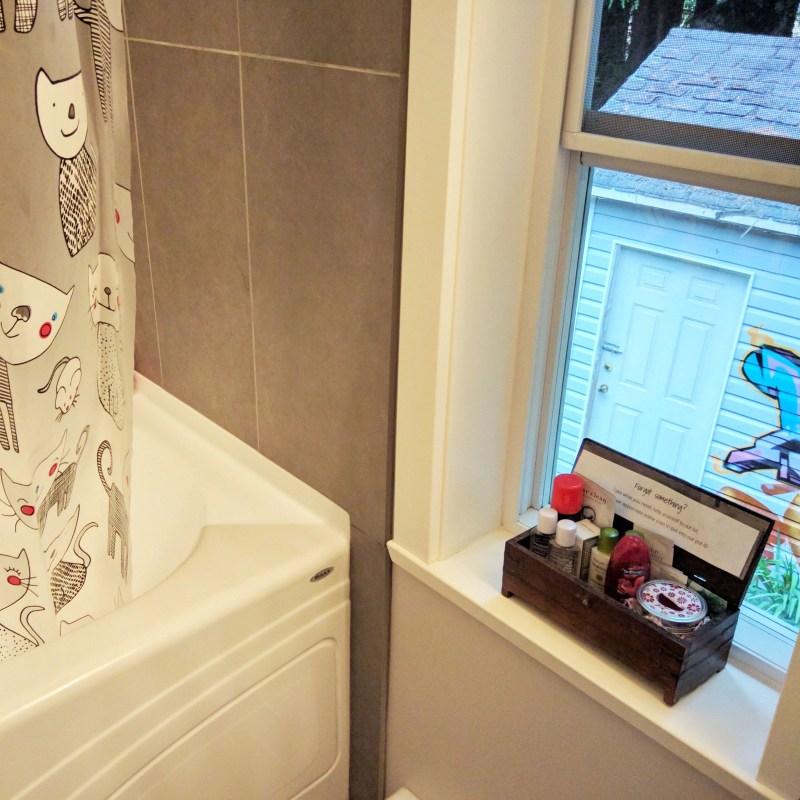 small bathroom window