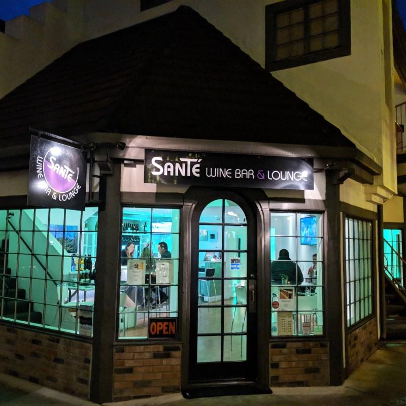 Sante wine bar in Solvang, California