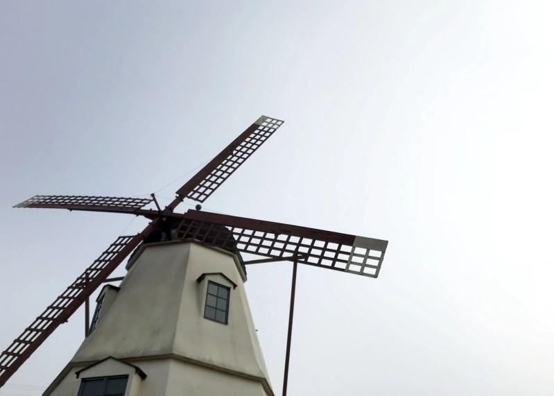 windmill in Solvang, California