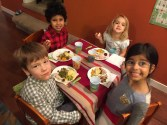 The kids table.