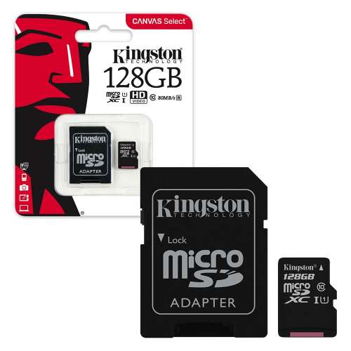 128gb microsd kingston