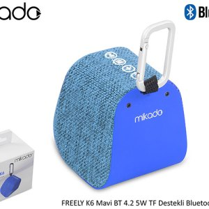 Mikado Bluetooth 4.1V Zvučnik FREELY K6 5W Plavi