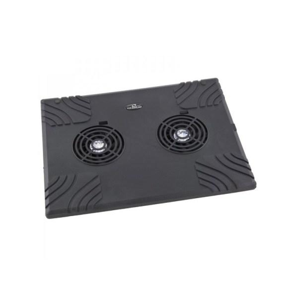 cooler laptop usb 2 ventilatoare esperanza titanium zonda