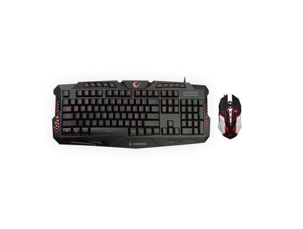 Rampage gaming Tastatura sa BiH tipkama Miš Combo KM R77