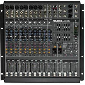 Mackie PPM1012 12-Channel 1600W Desktop Mixer